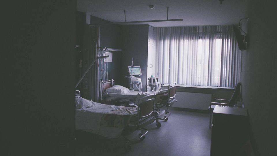 Ein Zimmer im Pflegeheim