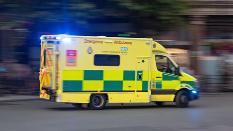 Britischer Krankenwagen