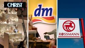 dm, Christ und Rossmann sinddie Händler mit den zufriedensten Kunden