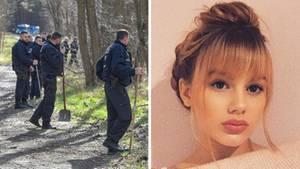 Suchaktion der Berliner Polizei; die vermisste Rebecca