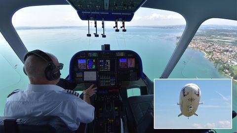 Bodensee: Spektakuläre Aussicht – Zeppelin-Rundflug über Deutschlands größten See