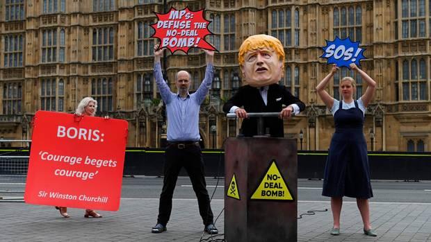 Anti-Brexit-Demonstranten
