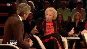 Thomas Gottschalk war bei Markus Lanz im ZDF zu Gast