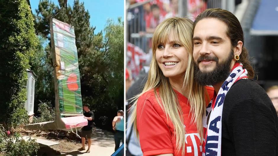 Ungewöhnliches Präsent: Tom spendiert Heidi ein Stück der Berliner Mauer – das teure Geschenk spaltet die Fans