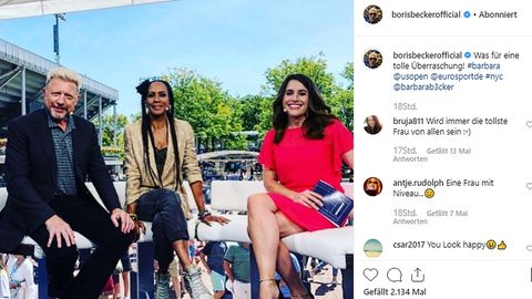 Boris und Barbara Becker geben gemeinsam TV-Interview