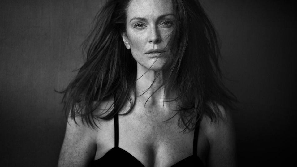 Julianne Moore, New York, 2016