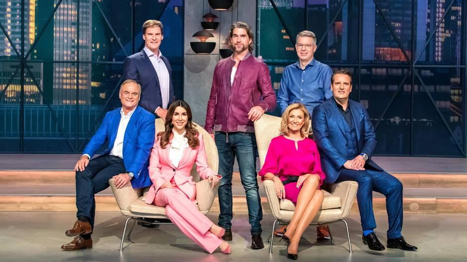 """Die Löwen aus Staffel 6 der Serie """"Die Höhle der Löwen"""""""