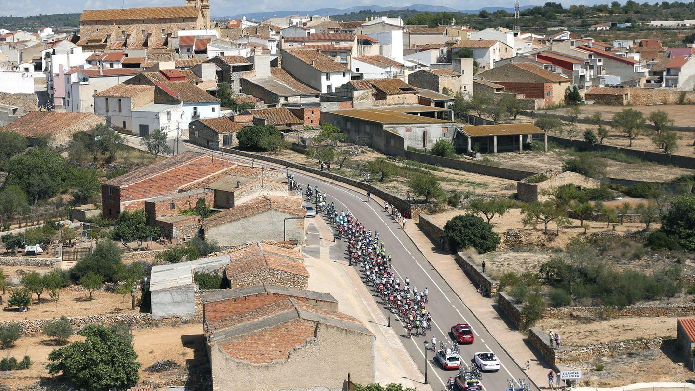 Luftaufnahme bei der Spanienrundfahrt (Archivbild)