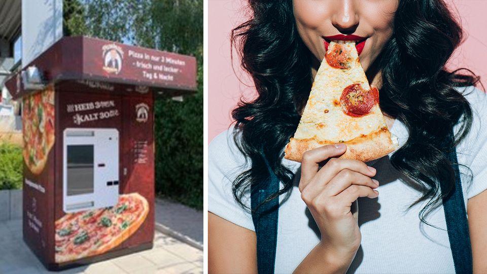 Erster Pizza-Automat mit frischer Ware steht in Baden-Württemberg