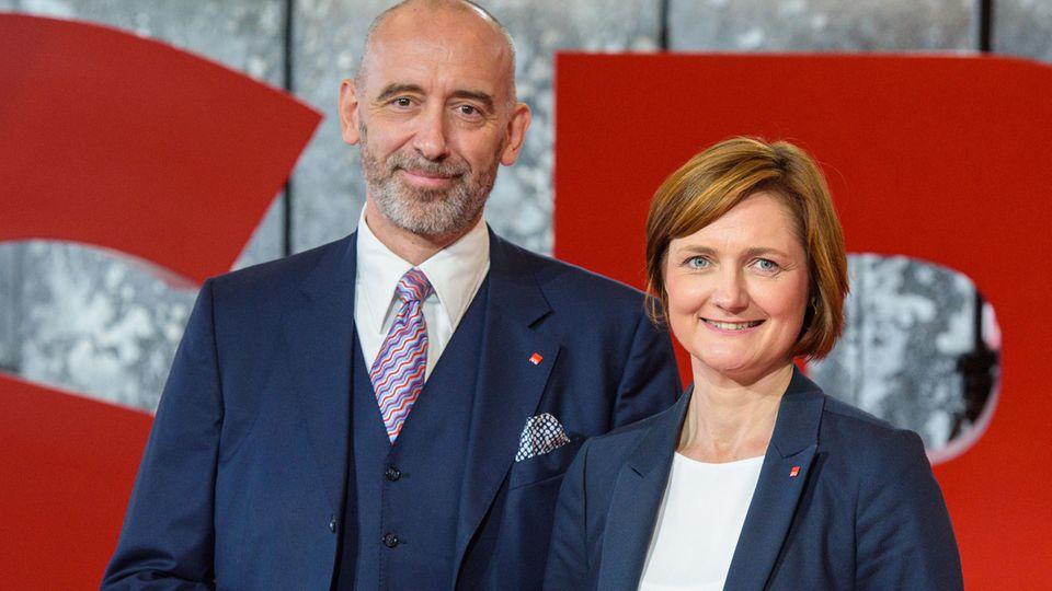 SPD-Kandidatenduo Alexander Ahrens und Simone Lange