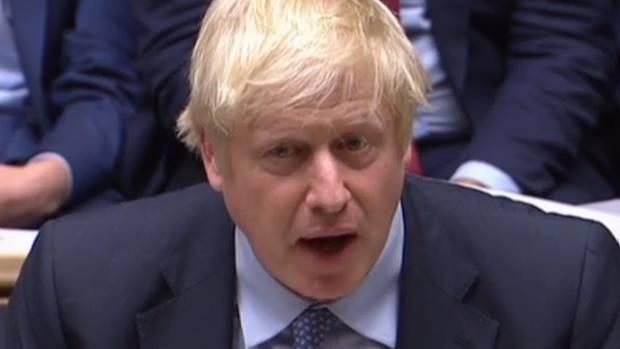 Der britische Premiere Boris Johnson muss in Sachen Brexit-Politik im Unterhaus einiges einstecken