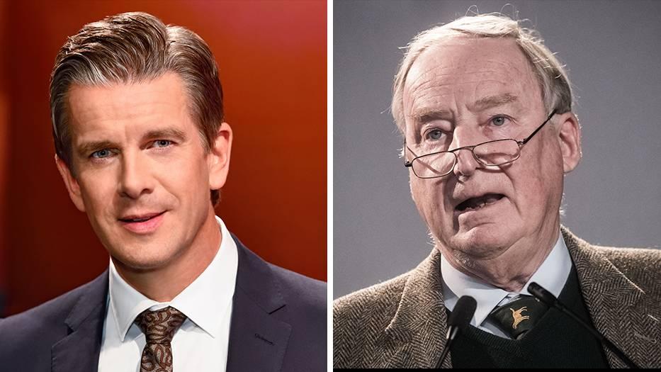Moderator Markus Lanz und AfD-Chef Alexander Gauland