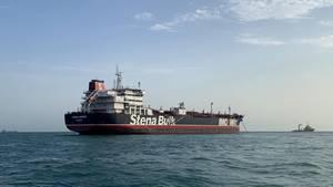 """Im Juli wurde der britische Tanke """"Stena Impero"""" im Iran festgesetzt."""
