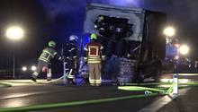 Osnabrück: 5000 Liter Bier auf der Autobahn 1 ausgelaufen