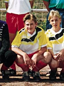 Miroslav Klose bei den B-Junioren der SG Blaubach