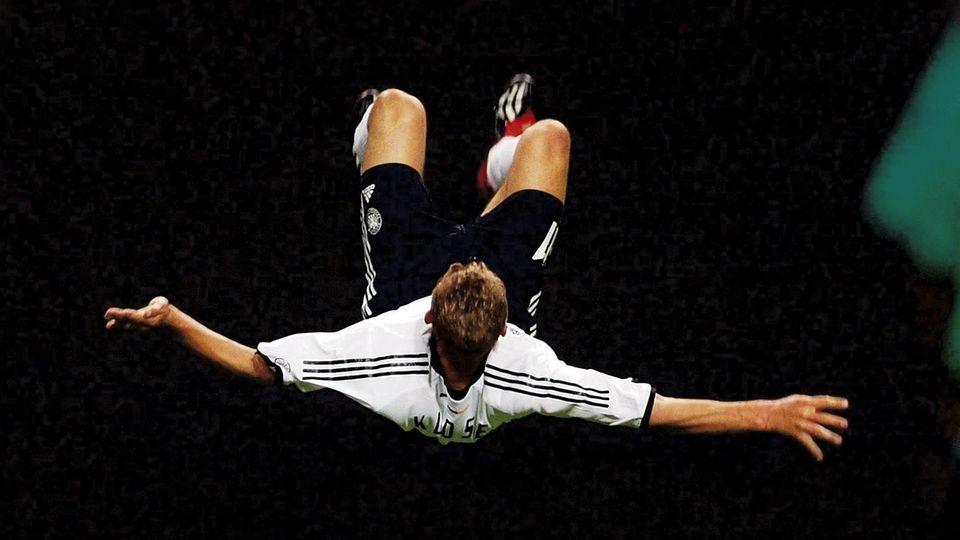 Miroslav Klose bei der WM 2002