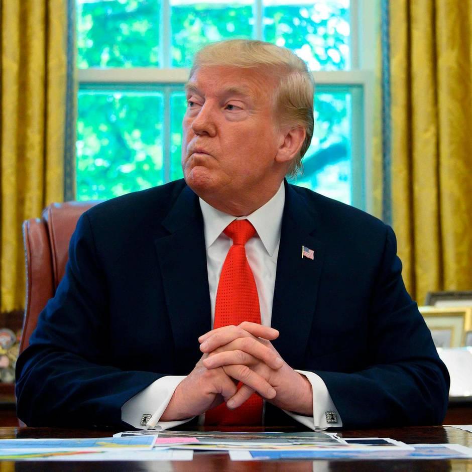 Terminkalender des US-Präsidenten: Was macht Donald Trump eigentlich so den ganzen Tag, während die Welt in Aufruhr ist? Nicht viel.