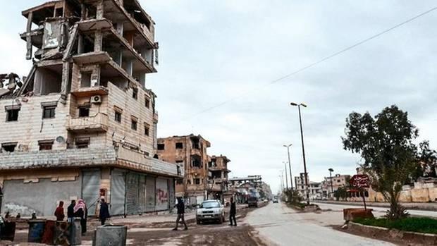 In diesem Haus in Raqqa lebte Leonora