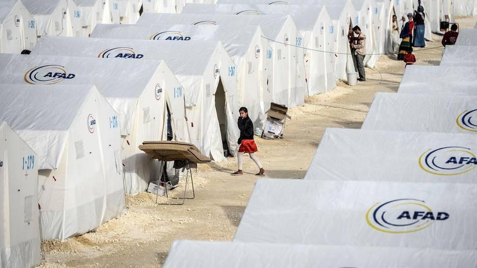 Türkei Flüchtlingslager