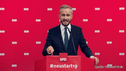 Der Satiriker Jan Böhmermann
