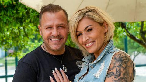 Willi Herren und seine Frau Jasmin