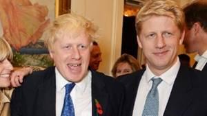Boris und Jo Johnson bei der Veröffentlichung von Boris Johnsons neuem Buch im Oktober 2014.