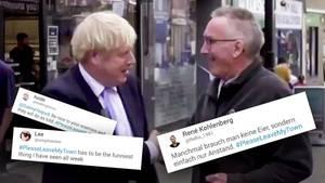 Boris Johnson: Höflicher Brexit-Gegner geigt ihm die Meinung