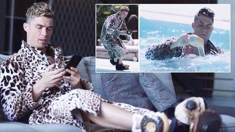 Cristiano Ronaldo: CR7 nimmt sich für Parfum-Werbung richtig auf die Schippe