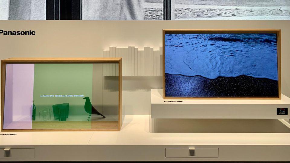 Panasonic Fernseher-Ausstellung