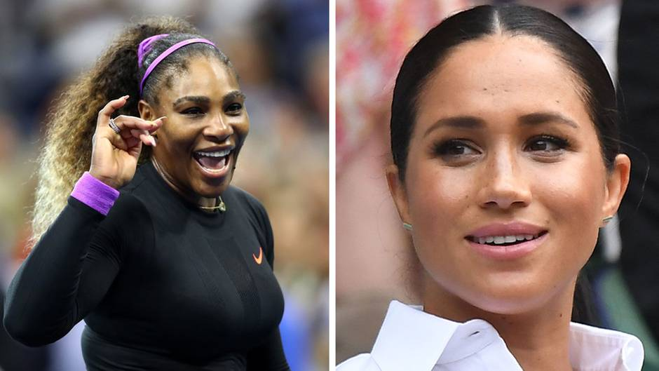 Serena Williams und Meghan Markle