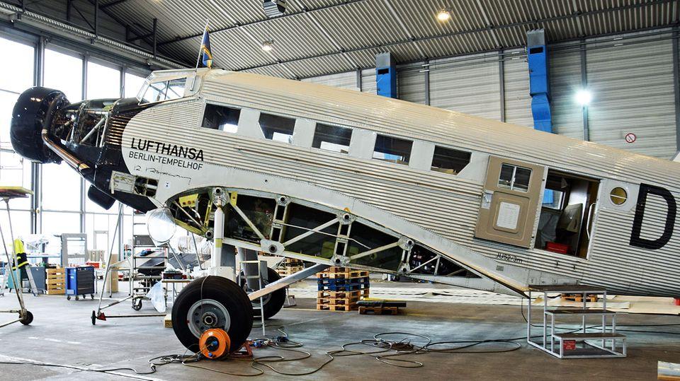 Ju52 der Lufthansa
