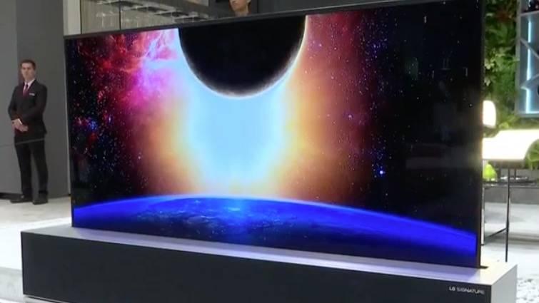ein fernseher zum aufrollen bitte die highlights der. Black Bedroom Furniture Sets. Home Design Ideas