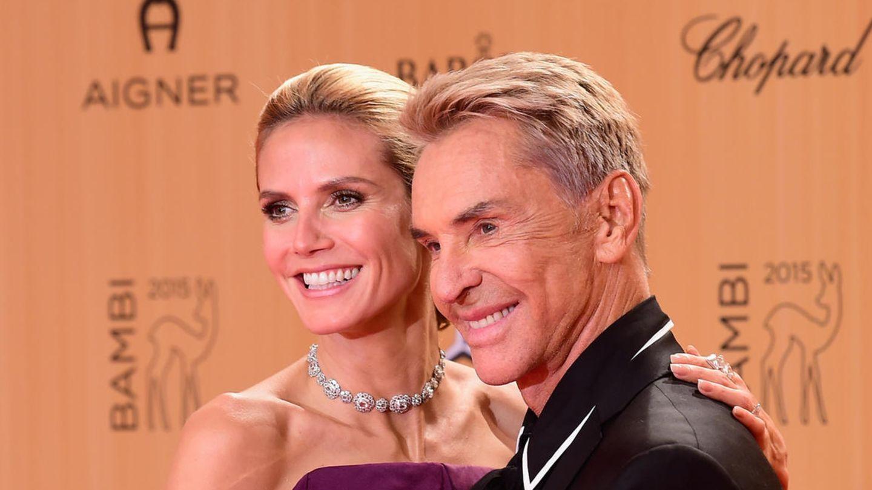 Heidi Klum und Wolfgang Joop sind gut befreundet
