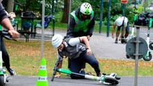 E-Scooter - Fahrsicherheitstraining