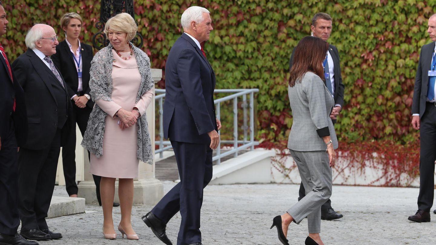 Mike Pence in Irland