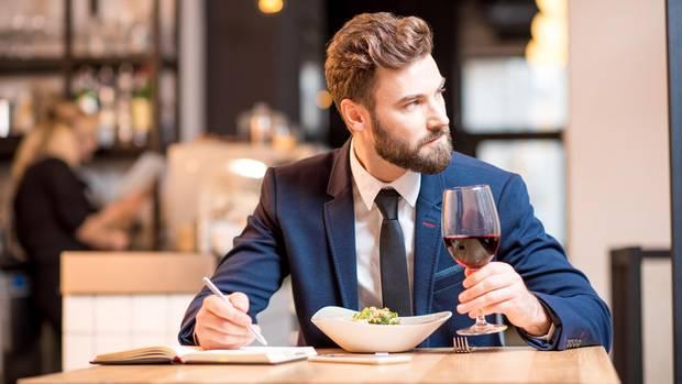Männer Restaurant