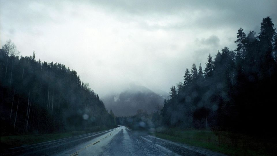 Landschaft am Highway 16