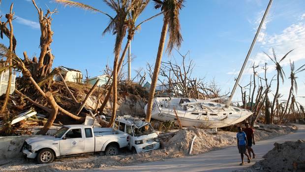 """Hurrikan """"Dorian"""" hat auf den Bahamas eine Schneise der Verwüstung hinterlassen"""