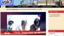 Die Webseite vpk-tv.com. Der falsche TV-Sender aus Bluewater zeigte ein falsches Bekennervideo der falschen Berlin Boys