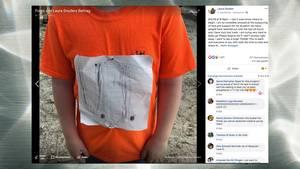 Facebook: Schüler wird für selbst kreiertes T-Shirt ausgelacht – dann zeigt eine Uni Herz