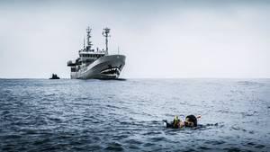 Jährlich sterben Tausende Meeresschildkröten durch verloren gegangene und im Meer treibende Fischernetze