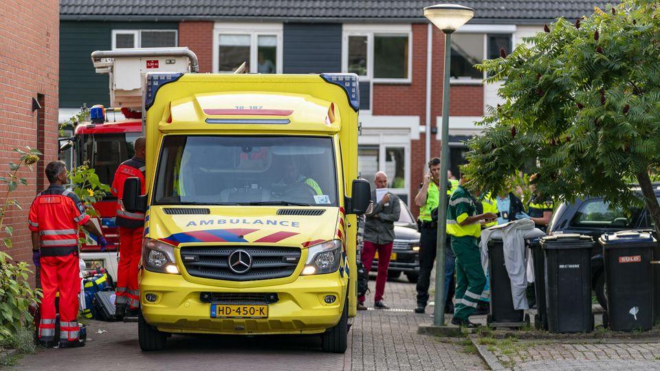 Drei Menschen würden durch die Schüsse im niederländischen Dordrecht getötet
