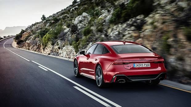Der Audi RS 7 Sportback ist bis zu 305 km/h schnell