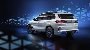 Basis für den BMW i Hydrogen Next ist ein BMW X5