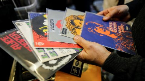 Vinyl-Comeback: Erstmals seit 30 Jahren mehr Umsatz als bei Cds
