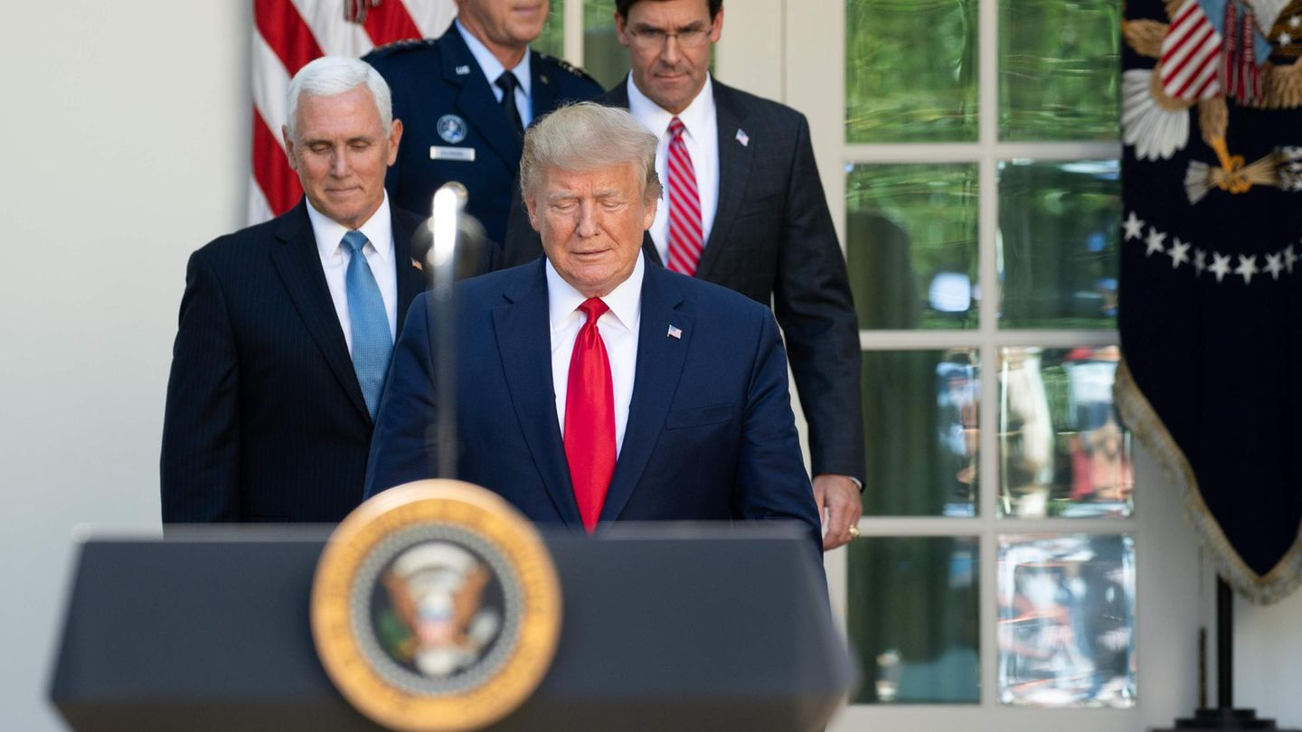 Donald Trump und Mike Pence