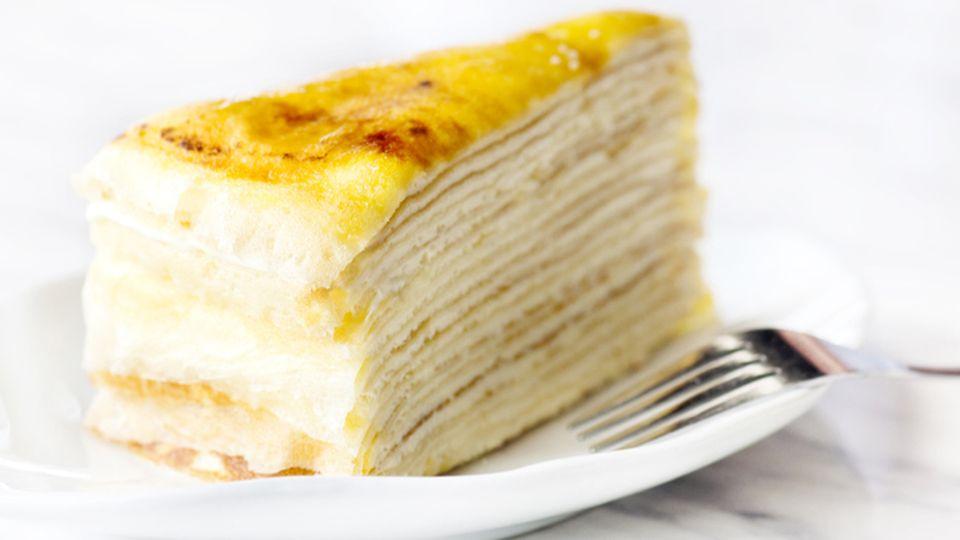 Berühmt ist Lady M vor allem für seine Version desMille Crêpe (hier ein Symbolbild), den Kuchen mit den 1000 Schichten