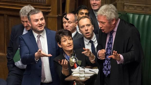 John Bercow im Parlament