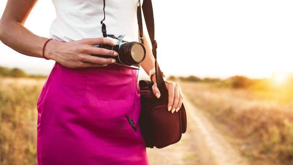 Kamera-Zubehör erleichtert den Transport und die Aufbewahrung Ihrer Spiegelreflexkamera für Einsteiger