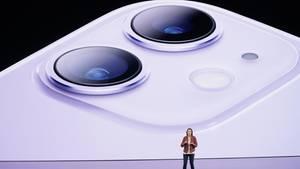Apple-ManagerinKaiann Drance bei der Vorstellung des iPhone 11